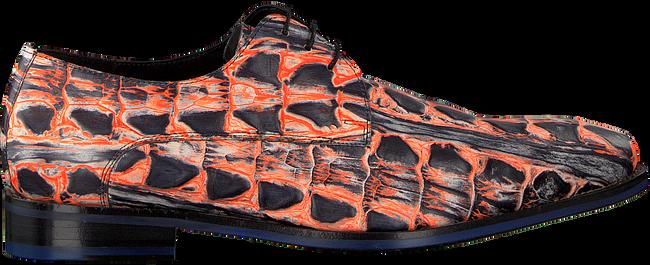 Orangene FLORIS VAN BOMMEL Business Schuhe 18204  - large