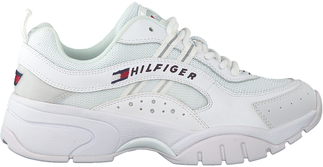 Weiße TOMMY HILFIGER Sneaker low HERITAGE TOMMY JEANS WMNS RUNN  - large