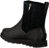 Schwarze SOREL Ankle Boots MADSON ZIP WP - small