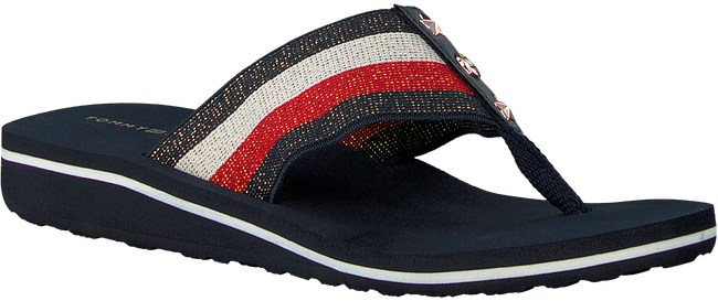 Blue TOMMY HILFIGER shoe ELEVATED CORPORATE BEACH SANDA  - large