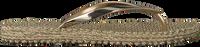 Goldfarbene ILSE JACOBSEN Zehentrenner CHEERFUL04  - medium