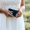 Grüne IDEAL OF SWEDEN Handy-Schutzhülle CLUTCH VELVET GALAXY S9 Plus - small