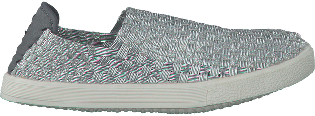 Silberne ROCK SPRING Slip-on Sneaker WARHOL - large