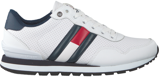 Weiße TOMMY HILFIGER Sneaker LIFESTYLE  - large