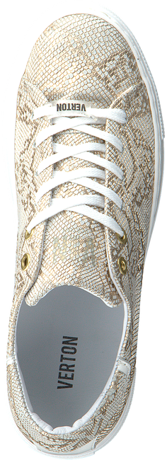 Goldfarbene VERTON Sneaker low J4850E  - large