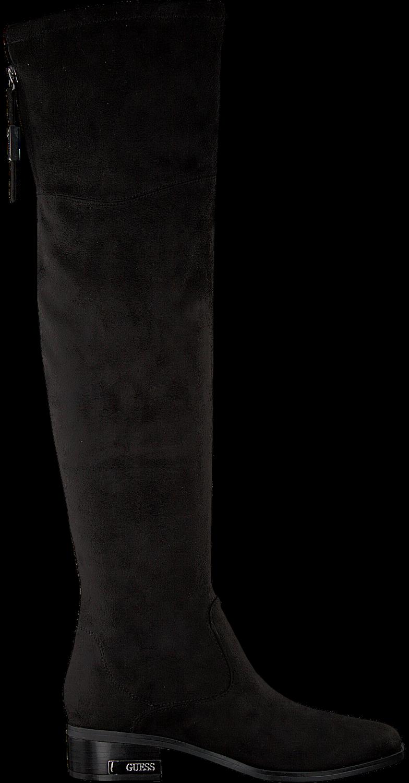 Hohe Schwarze Guess Esu11 Flpl24 Stiefel D29bEYeHIW
