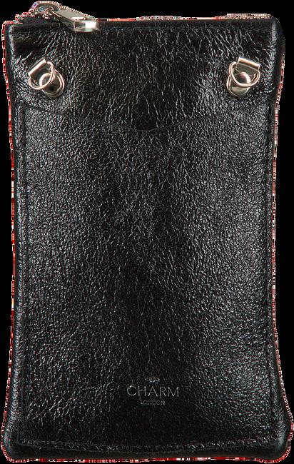 Schwarze CHARM Handy-Schutzhülle L559  - large