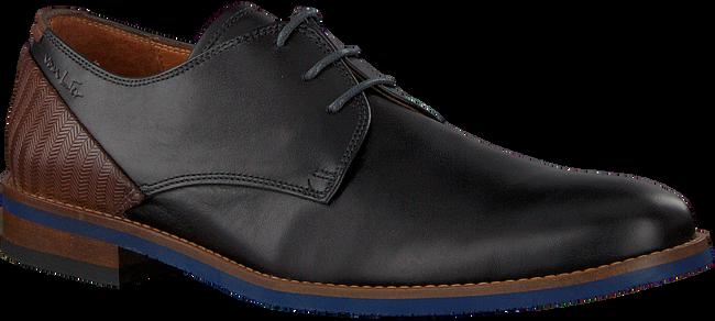 Schwarze VAN LIER Business Schuhe 1915310  - large