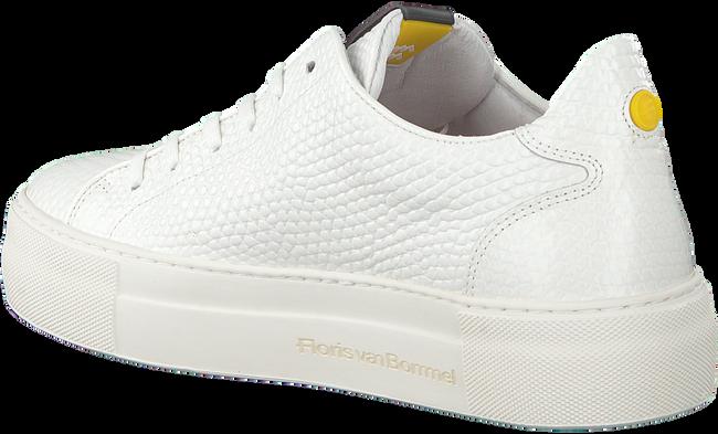 Weiße FLORIS VAN BOMMEL Sneaker low 85297  - large