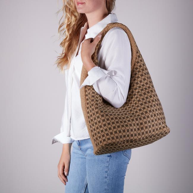 Braune UNISA Handtasche ZISNOW  - large