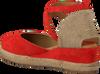 Rote UNISA Espadrilles CAUDE  - small
