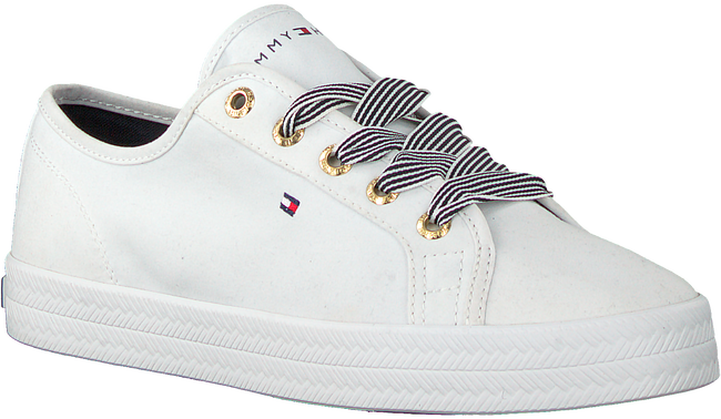 Weiße TOMMY HILFIGER Sneaker low ESSENTIAL NAUTICAL  - large