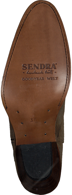 Beige SENDRA Hohe Stiefel 6592  - large
