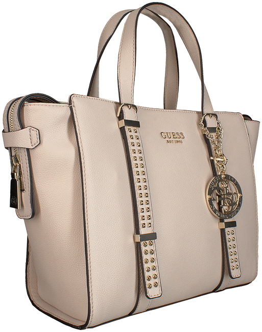 Graue GUESS Handtasche EILEEN SATCHEL  - large