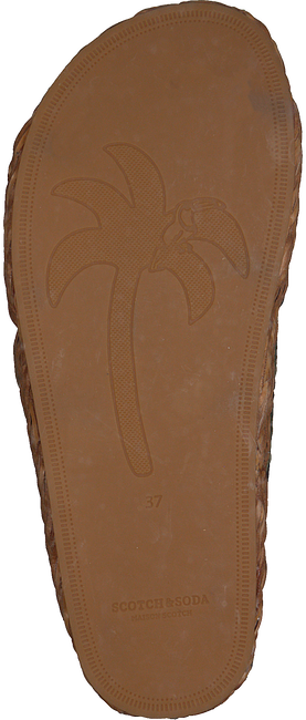 Grüne SCOTCH & SODA Pantolette ANGLE  - large