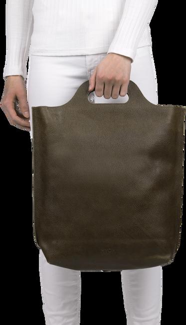 Braune MYOMY Handtasche CARRY SHOPPER - large