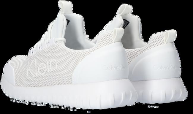 Weiße CALVIN KLEIN Sneaker low RUNNER SNEAKER LACEUP MESH  - large