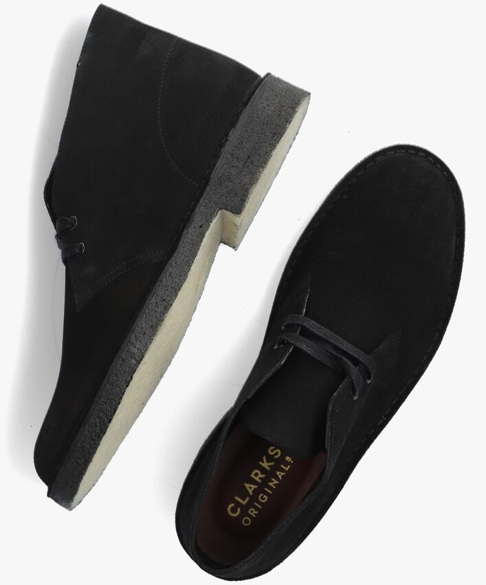 Schwarze CLARKS Ankle Boots DESERT BOOT HEREN - larger