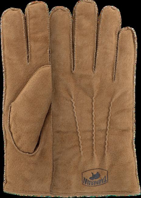 Cognacfarbene WARMBAT Handschuhe GLOVES MEN  - large