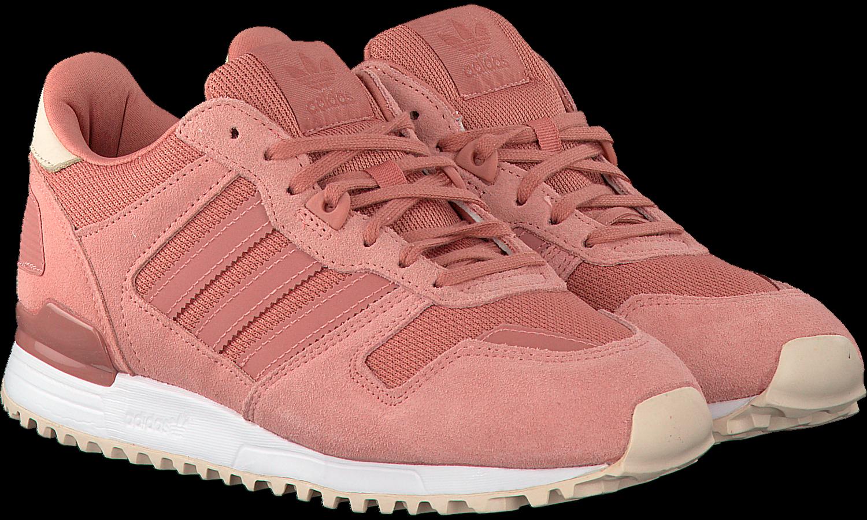 Adidas Sneaker Damen ZX 700 W BY9386 Rosa, Schuhgröße:36
