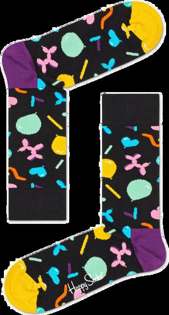 Schwarze HAPPY SOCKS Socken BALLOON ANIMAL - large