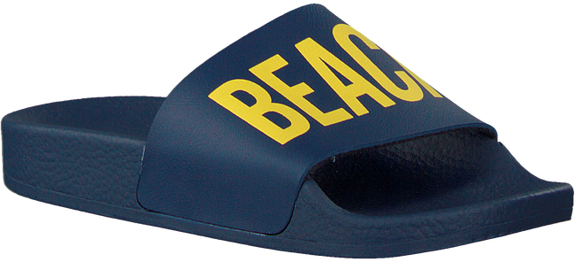 Blaue THE WHITE BRAND Pantolette BEACH MINIMAL KIDS  - large