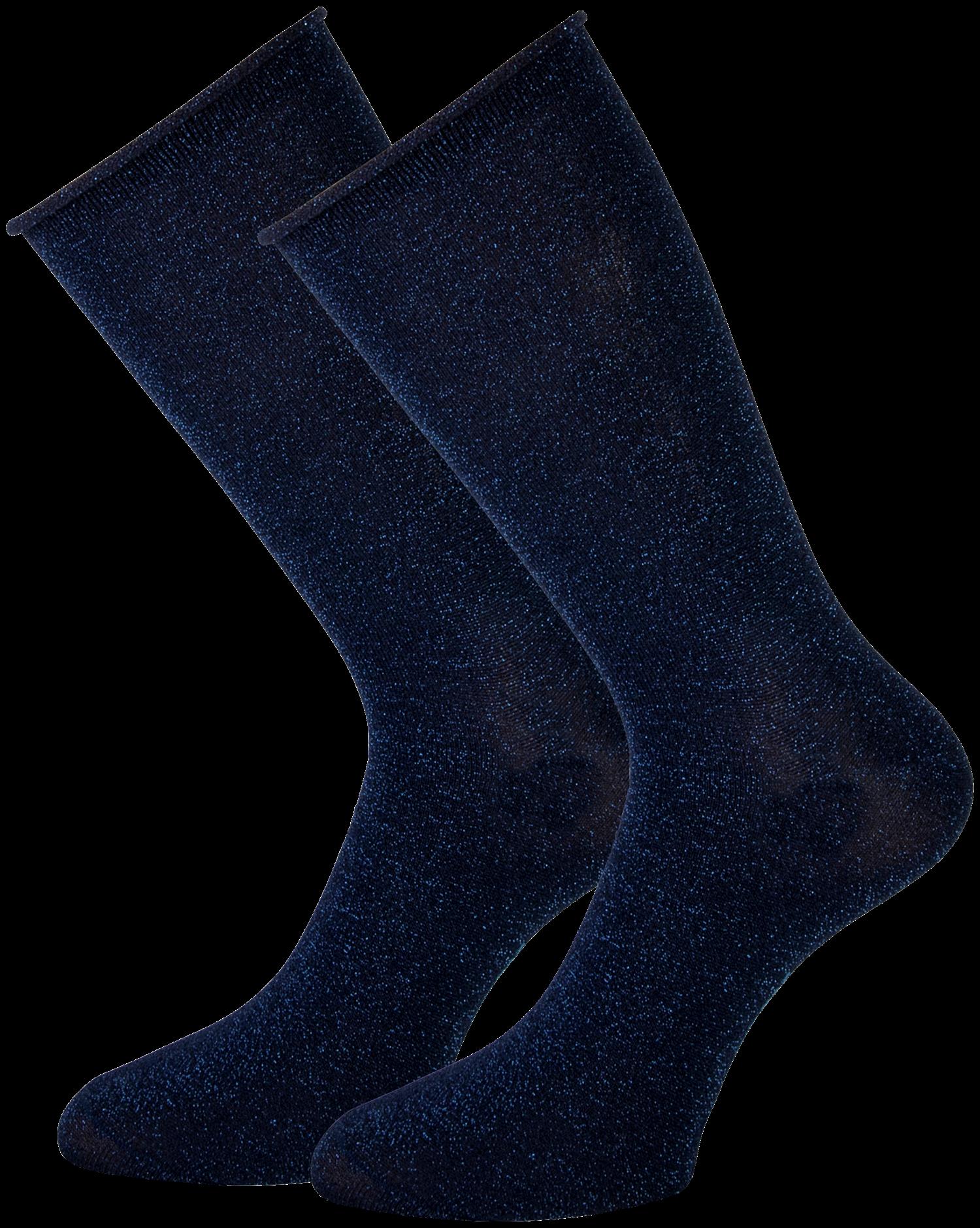 Blaue MARCMARCS Socken GWEN 2-PACK LANG ymYdp