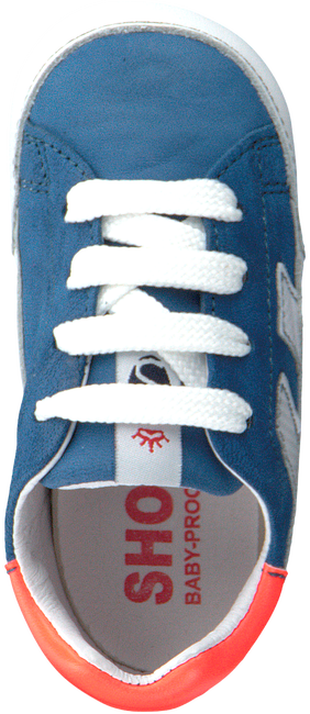 Blaue SHOESME Babyschuhe BP20S024  - large