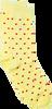 Gelbe Alfredo Gonzales Socken DOTS YELLOW  - small