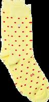 Gelbe Alfredo Gonzales Socken DOTS YELLOW  - medium
