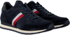 Blue TOMMY HILFIGER shoe LUXERY SUEDE RUNNER  - small
