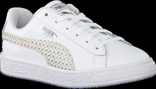 Weiße PUMA Sneaker BASKET CHAMELEON  - large