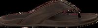 brown OLUKAI shoe PIKOI  - medium