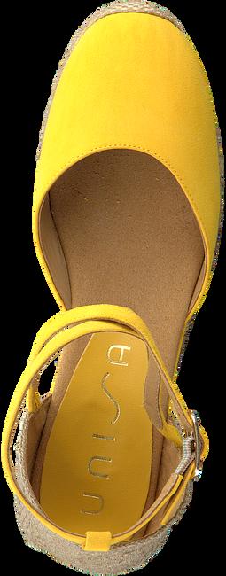 Gelbe UNISA Espadrilles CAUDE  - large