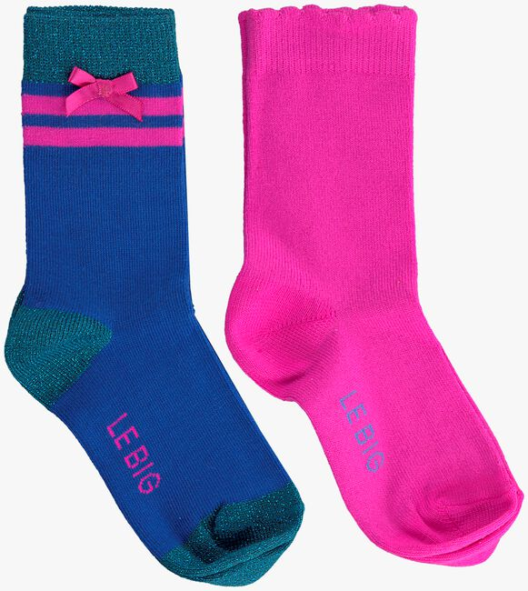 Blaue LE BIG Socken PORSHA SOCK  - large