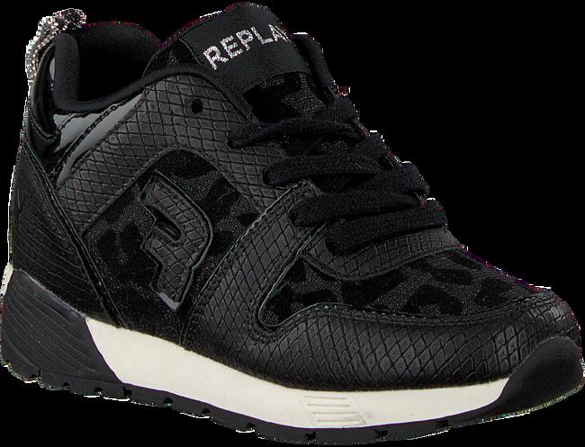Schwarze REPLAY Sneaker YORI  - large