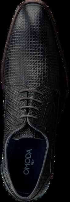 Schwarze OMODA Business Schuhe 735-A - large
