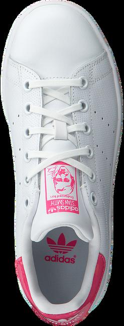 Weiße ADIDAS Sneaker STAN SMITH J - large