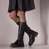 Schwarze PS POELMAN Hohe Stiefel R17646-L1184  - small