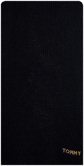Blaue TOMMY HILFIGER Schal EFFORTLES KNIT SCAR - large