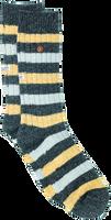 Schwarze Alfredo Gonzales Socken TWISTED WOOL STRIPE  - medium