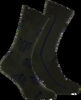 Grüne MARCMARCS Socken ERIC COTTON 2-PACK - medium