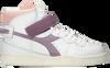 Weiße DIADORA Sneaker high MI BASKET MID ICONA WN  - small