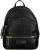 Schwarze GUESS Rucksack MANHATTAN SMALL BACKPACK  - small