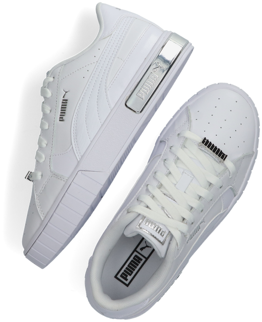 Weiße PUMA Sneaker low CALI STAR METALLIC WN'S  - large