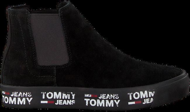 Schwarze TOMMY HILFIGER Chelsea Boots MID CITY SNEAKER - large