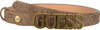 Braune GUESS Gürtel NOELLE ADJUSTABLE PANT  - small