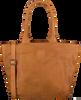 Cognacfarbene LEGEND Handtasche BARDOT - small