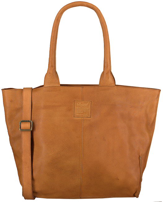 Cognacfarbene LEGEND Handtasche BARDOT - large
