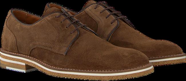 Cognacfarbene MAZZELTOV Business Schuhe 5406  - large